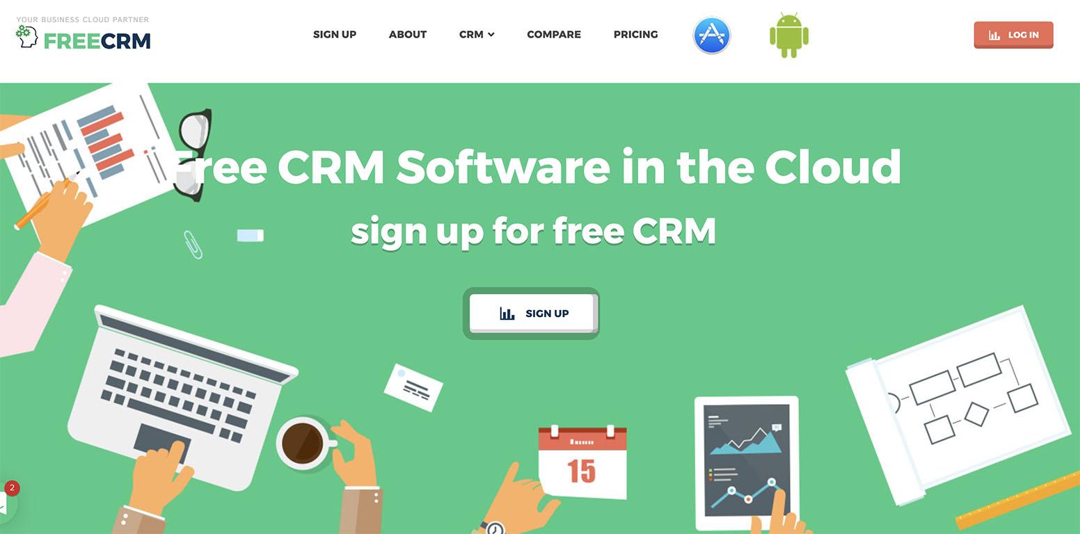 Free CRM software customer relationship management in la Nube
